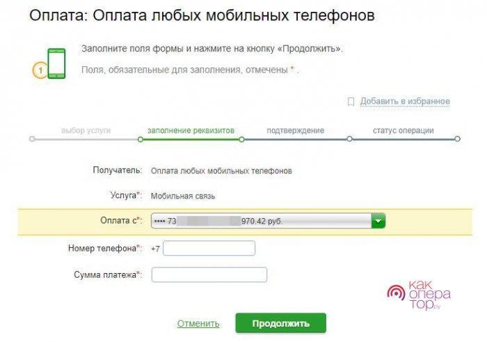 Сервисы Сбербанка