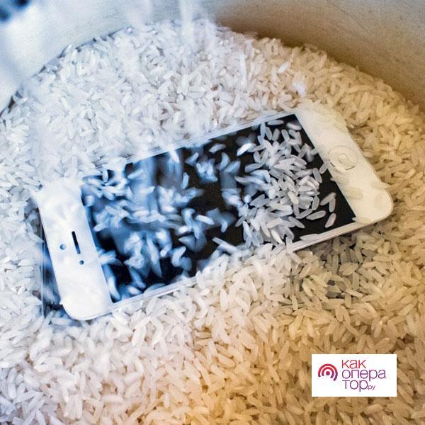 Что делать, если телефон упал в воду | Статьи от VsePlus