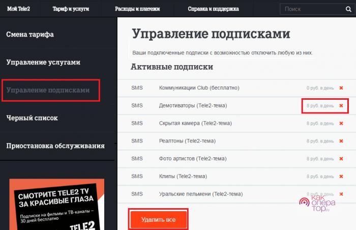 Проверить подписки