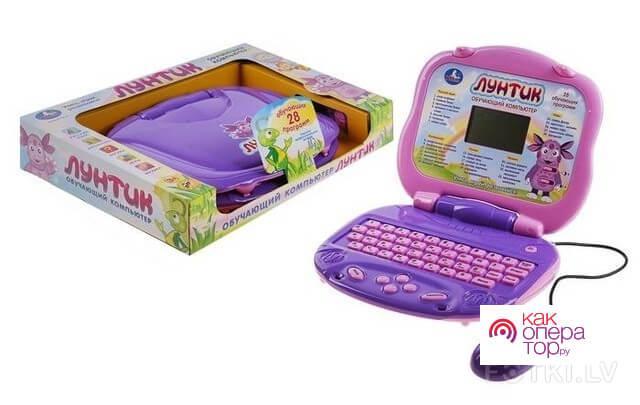 Детский обучающий компьютер «Лунтик»