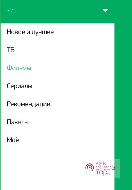Интерфейс услуги