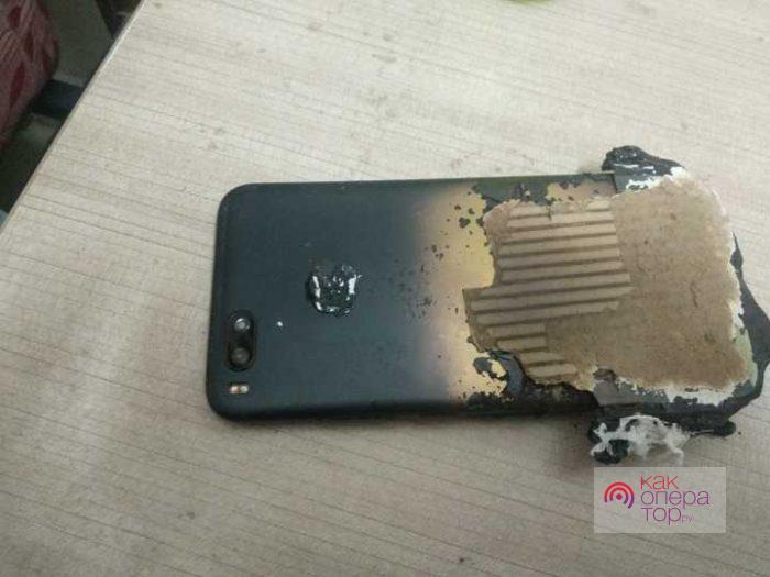«Бабахнул» Xiaomi Mi A1